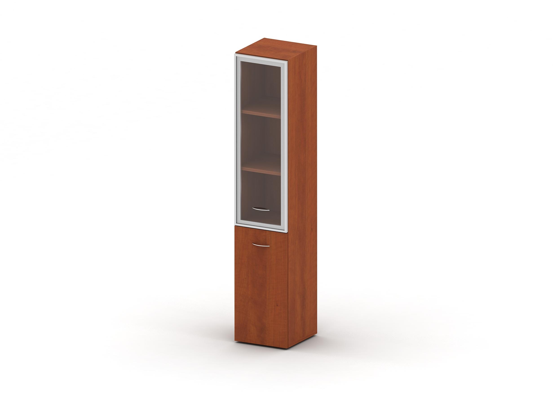 Шкаф комбинированный стекло в раме