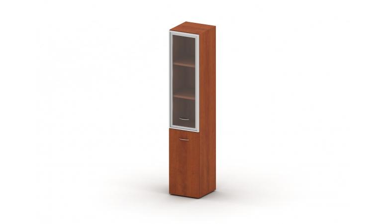 Шкаф комбинированный стекло в раме TL.Ш14-04R/L