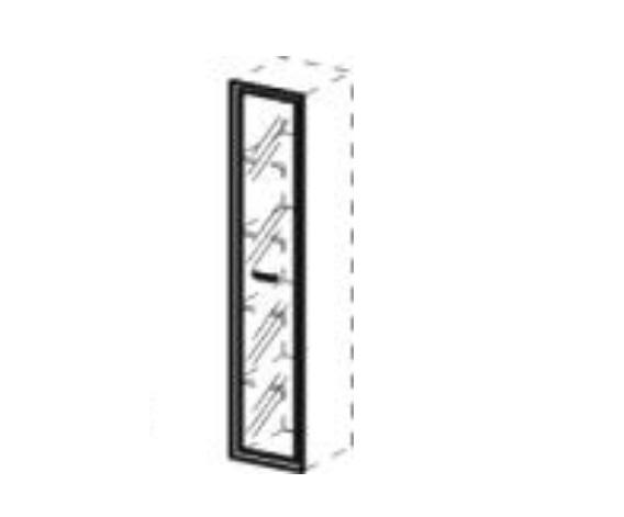Дверцы стеклянные для ШД13, ШД13-04