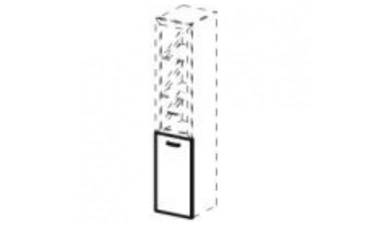 Дверцы глухие для комбинированных шкафов ДШД16.07R/ДШД16.07L