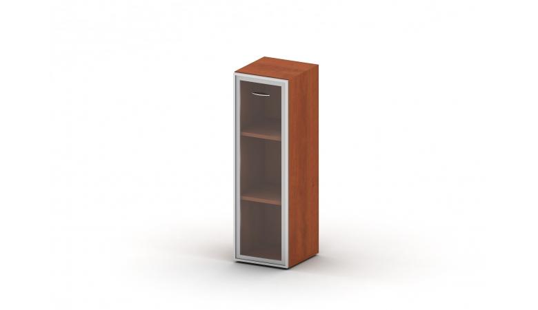 Шкаф 3 уровня стекло в раме TL.Ш34-04R/L