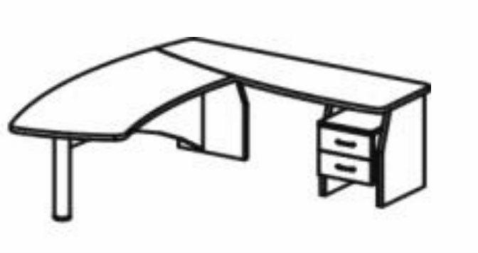 Стол переговорный 220x95x75