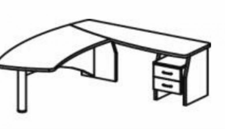 Стол переговорный 220x95x75 СТ91-02R