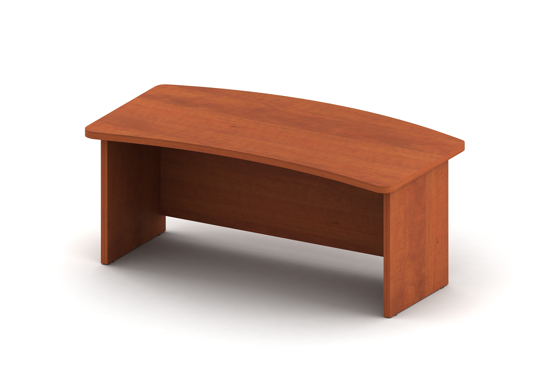 Стол с фигурной внутренней и внешней столешницей