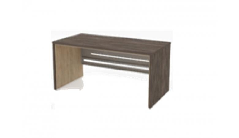 Стол письменный с метал.царгой П34М