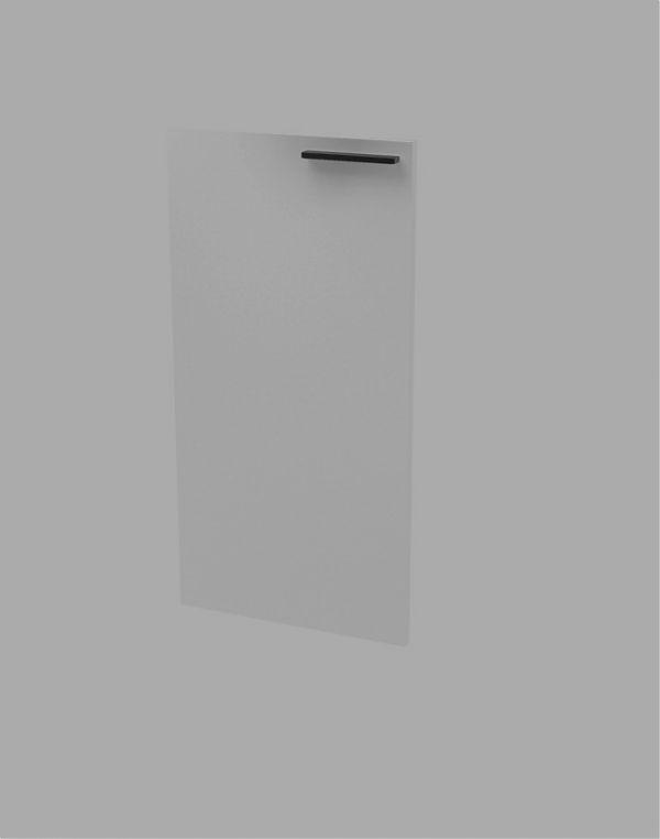 Дверь низкая white