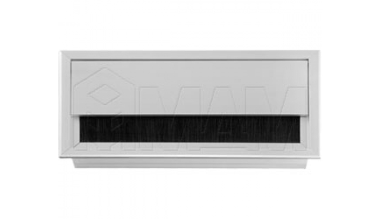 Заглушка кабель-канала, алюминиевая, 160х80 мм 2113.160